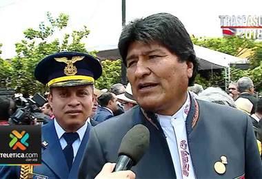 Evo Morales habló sobre el Traspaso de Poderes realizado en Costa Rica