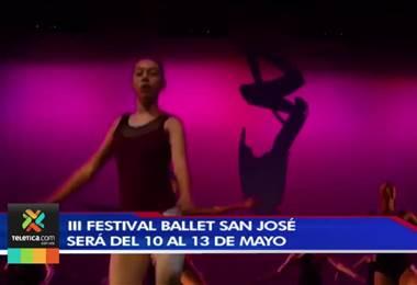 Más de 200 bailarines y 27 agrupaciones participarán en Festival Ballet San José