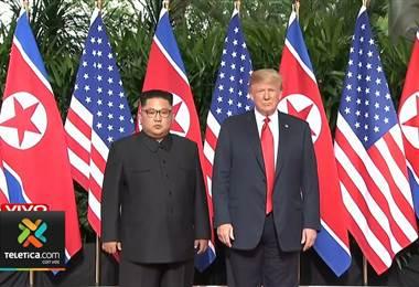 Reunión Kim  y Trump