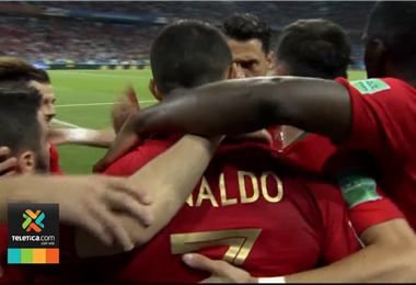 Selección de Portugal en Rusia 2018.