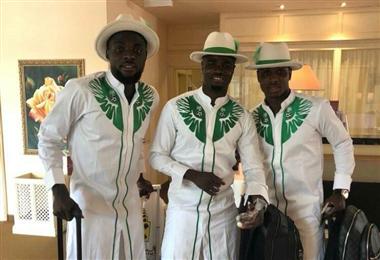 Tomada del Facebook de la Selección de Nigeria