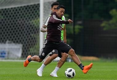 El futbolista mexicano Marco Fabián.