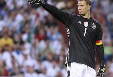 Manuel Neur, portero de Alemania.|Selección de Alemania
