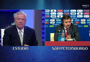 Conferencia de prensa Óscar Ramírez