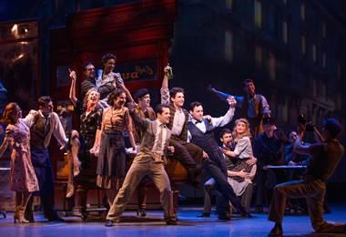 Estrellas de Broadway.