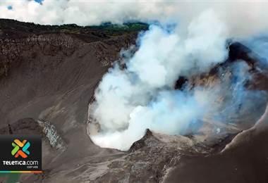 Volcanes Turrialba y Poás han disminuido su actividad en los últimos meses