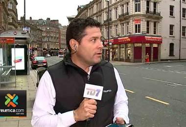 Vea el momento en que a Gustavo López sufre un nuevo 'pacho' en televisión nacional