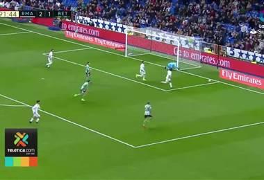 Keylor Navas destaca una parada ante el Betis como la mejor en sus cuatro años con el Real Madrid
