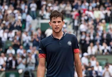 El tenista austríaco Dominic Thiem.