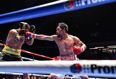El boxeador filipino Manny Pacquiao |AFP.