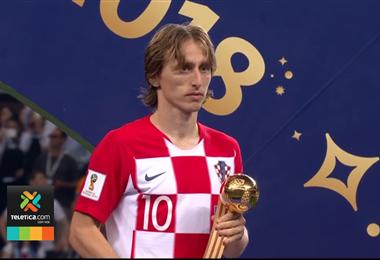 Luka Modric, Balón de Oro de Rusia 2018.