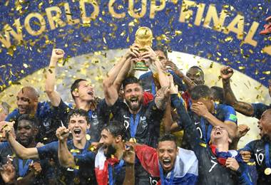 La Selección de Francia se coronó campeona del Mundial de Rusia 2018 FIFA.