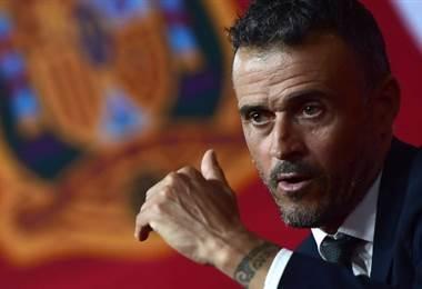 Luis Enrique, técnico de España.|AFP