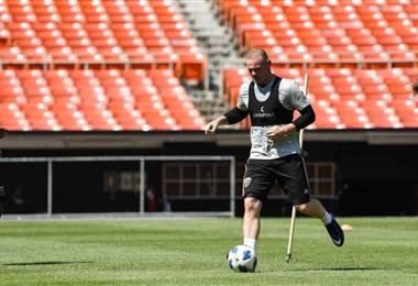 El delantero inglés Wayne Rooney ya entrena con el DC United.