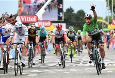 Tomada del Facebook del Tour de Francia