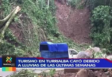 Lluvias de las últimas semanas en Turrialba provocaron la caída de visitación de turistas