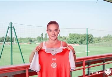 Melissa Herrera, nueva jugadora del Stade de Raims.