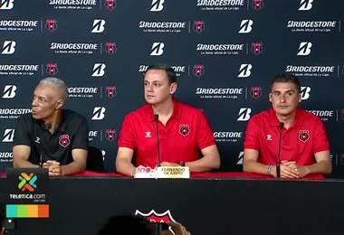 Carlos Castro es el nuevo asistente técnico de Alajuelense