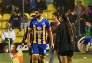 El futbolista paraguayo Mario Ricardo.