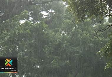 Vientos alisios propician lluvias en el Caribe y Valle Central