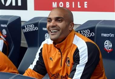 El portero nigeriano del Wolverhampton, Carl Ikeme.