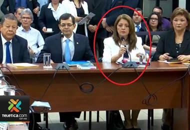 Magistrada Doris Arias, una de las que fue suspendida por la Corte, se acogió a su pensión