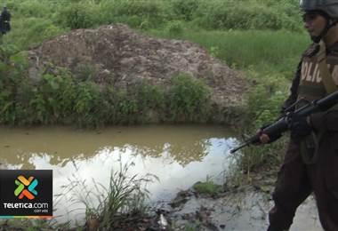 Operativos en Crucitas dejan 91 detenidos por extraer oro ilegal