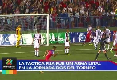 Táctica fija fue un arma letal en la segunda jornada del Apertura 2018