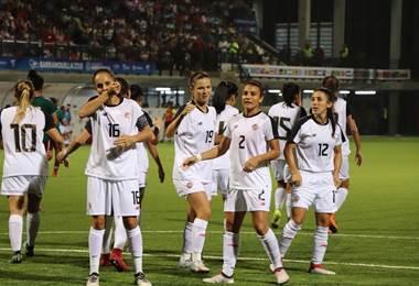 Selección Femenina en Barranquilla 2018. CON