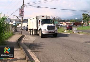 Camiones articulados tendrán restricción por romería