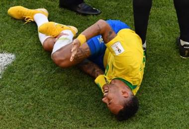 El delantero brasileño Neymar Jr. |AFP.
