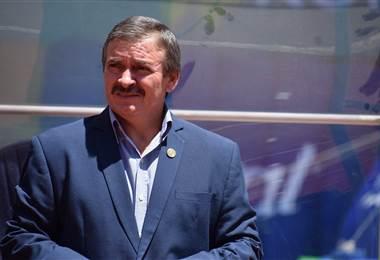 El técnico Óscar Ramírez |Julio Naranjo.