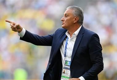 Tite, entrenador de Brasil. FIFA