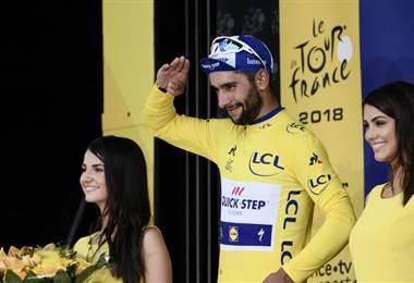 Fernando Gaviria de Quick Step. AFP