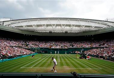 Roger Federer durante el torneo de Wimbledon del 2018.|Wimbledon