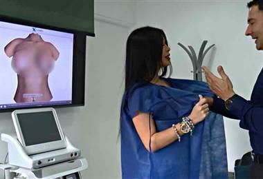 Tecnología de realidad aumentada le mostrará cómo quedaría después de una cirugía de implantes