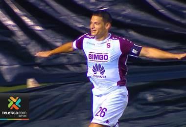 Daniel Colindres se volvió a encontrar con el gol en el Apertura 2018