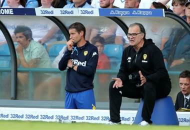 Marcelo Bielsa, técnico del Leeds. BBC