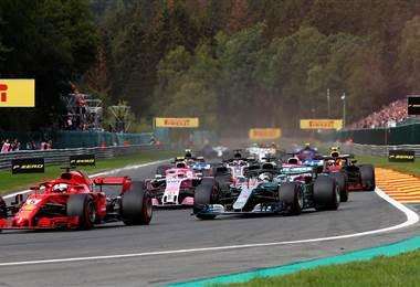 Tomada del Facebook de la Fórmula 1