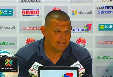 Conferencia de prensa de Geiner Segura, técnico de Guadalupe FC