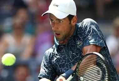 Novak Djokovic, US Open 2018.|AFP