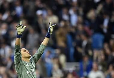 El guardameta costarricense del Real Madrid, Keylor Navas |AFP.