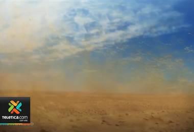Estudios de la UNA confirman llegada de polvo del Sahara al país
