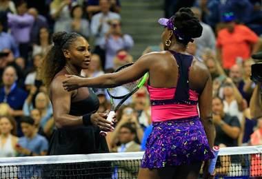 Serena y Venus Williams. AFP