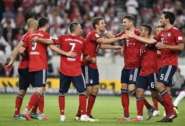 Bayern Munich es lider en Almania. AFP