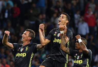 Juventus vuelve a triunfar. AFP