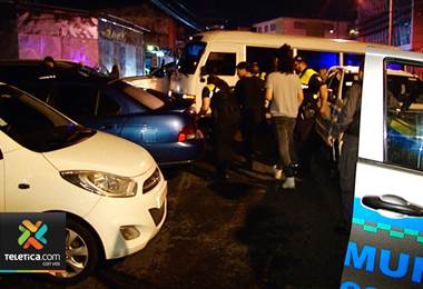 Autoridades realizaron operativo conjunto en el casco central de San José