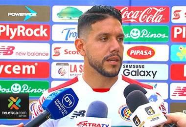 Leonel Moreira, portero de Costa Rica.
