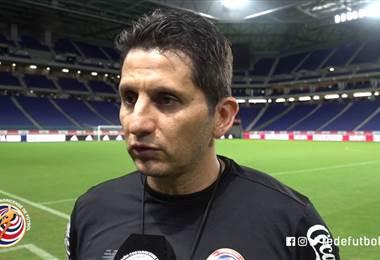 Declaraciones de Rónald González previo al juego ante Japón.|Prensa Fedefútbol