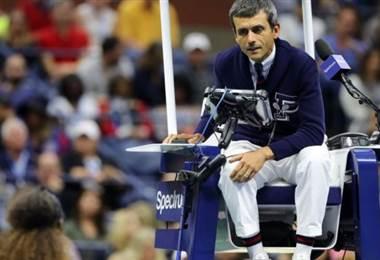 Árbitro portugués del US Open, Carlos Ramos.|BBC Mundo